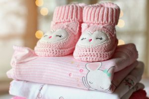 Petits chaussons d'enfant