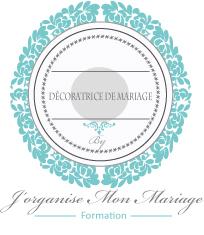 Logo décoratrice de mariage certifiée
