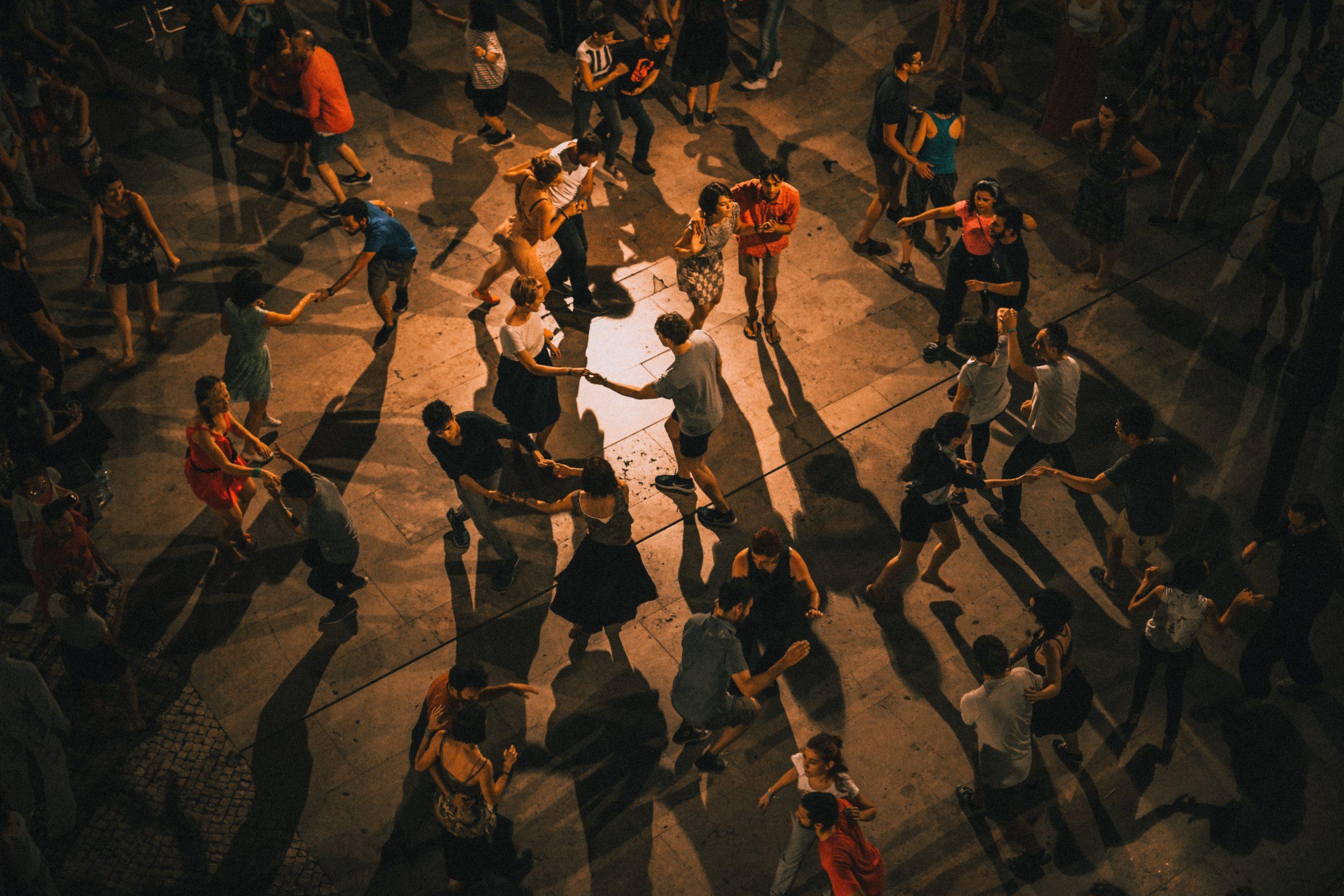 Une fête dansante
