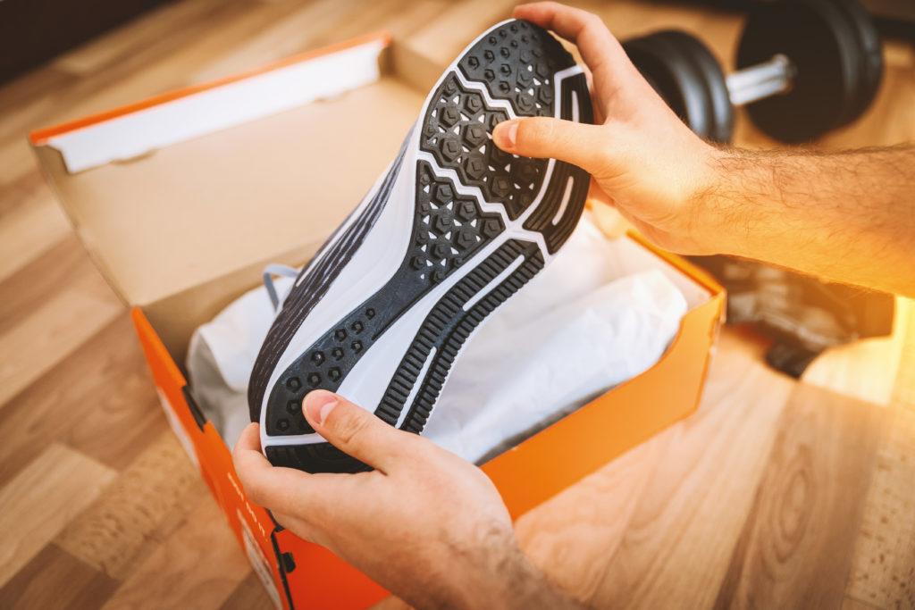 Présentation d'une nouvelle marque de baskets